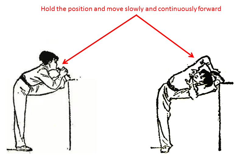 example of passive stretching