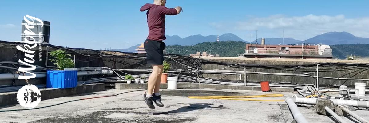 Wushu leg workout