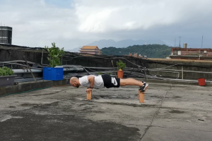 Wushu Brick Core Workout